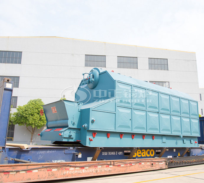 6tph SZL series packaged chain grate steam boiler project in Bangladesh