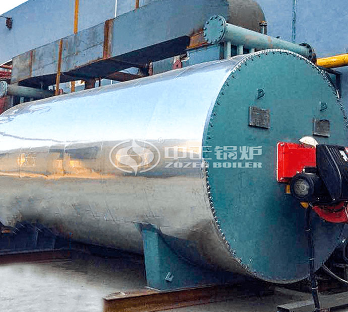 6 and 7 million kcal YQW series gas-fired horizontal thermal oil heater project for the textile industry